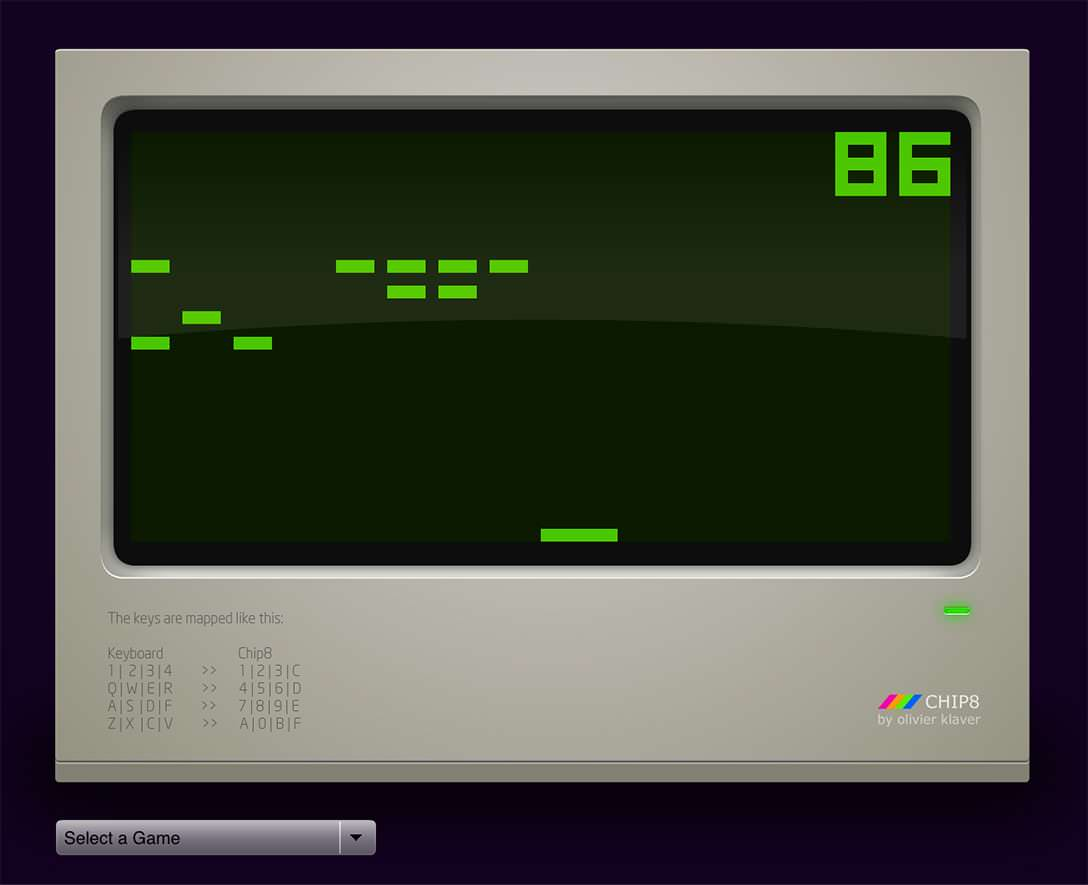 fallback image of chip8 emulator